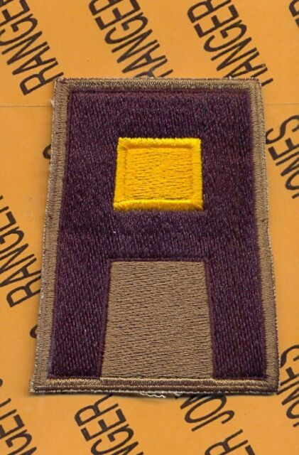 US Army 1st First Army Cavalry Branch SSI patch