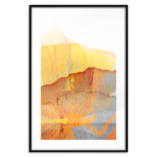 Poster mit Rahmen Bilder gerahmte Wandbild Kunstdruck Bilderrahmen a-A-0409-ao-a