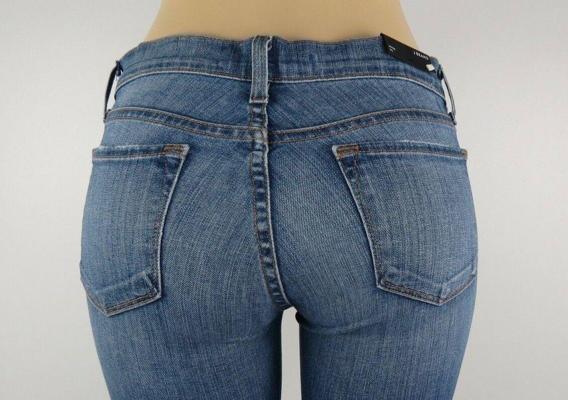 NWT J BRAND WOMENS JEANS STRAIGHT LEG, RAIL, BLISS, Size 26,Retail  198