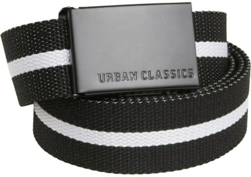 "Urban Classics Lona Cinturón Cinturón de tela básica 125cm preisleistungssieger 2016/"""