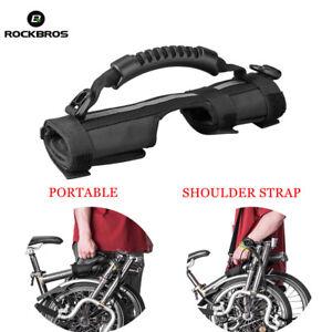 Rockbros-Brompton-Carry-Handle-Handgrip-Folding-Bike-Frame-Carry-Shoulder-Strap
