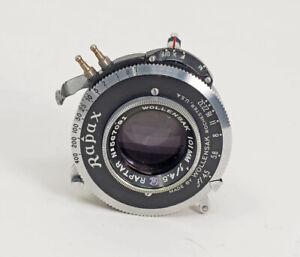 Wollensak-Raptar-101mm-F4-5-Rapax-Shutter-MFX-Synchronization