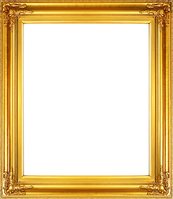 Frame 24x20 Vintage Style Old Gold Ornate Picture Oil