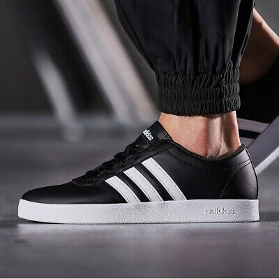 Adidas Men Shoes Sneakers Black Easy Vulc 2.0 Fashion Trainers Lifestyle B43665 | eBay