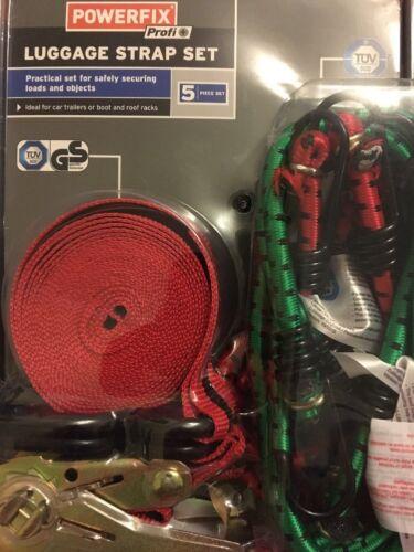 Powerfix bagages sangle ensemble pour fixation Safetly charges et objets