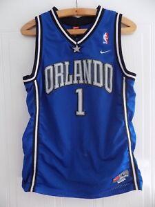 finest selection 90195 28541 Details about Nike Orlando Magic NBA Tracy Mcgrady Basketball Jersey Shirt  #1 Retro Mens RARE