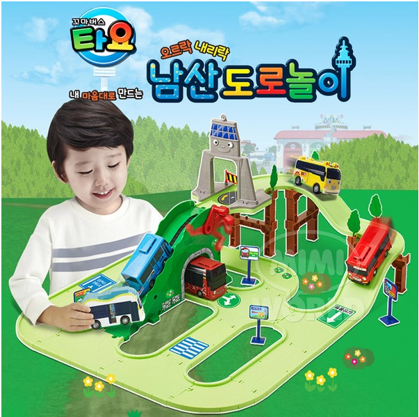 The Little Bus TAYO Namsan Street play Set
