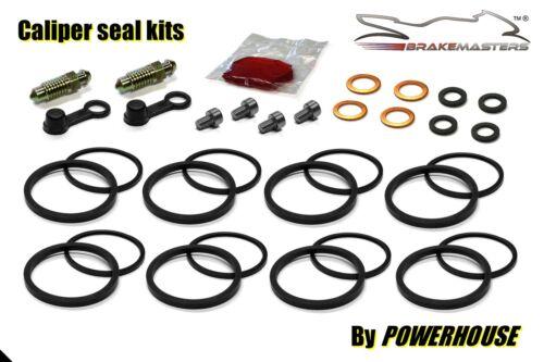 Kawasaki ZR 1100 Zephyr front brake caliper seal rebuild repair kit A 1994 1995