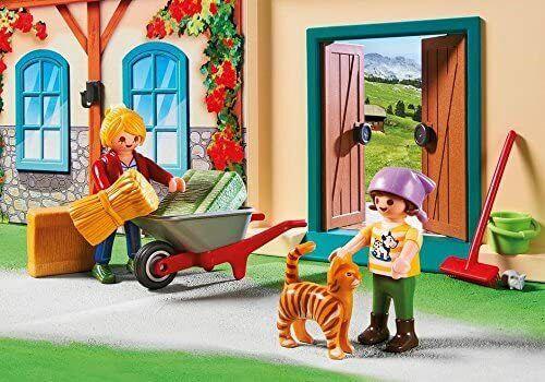 PLAYMOBIL La ferme transportable 4897 Enfant Garçon Fille jeu jouet NEUF