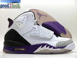 purchase cheap 06781 c2870 Image is loading NIKE-JORDAN-SON-OF-MARS-WHITE-PURPLE-COOL-
