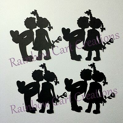 Valentine Titles Quotes Die Cut Embellishment Cutout Scrapbooking Card Topper