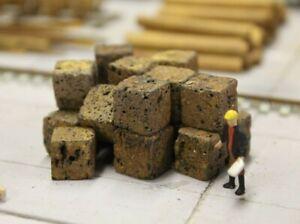 Bulkscene - Model Crushed Rusty Steel Scrap Metal Bales Oo/ho Gauge - Pack Of 16 Un Enrichit Et Nutritif Pour Le Foie Et Les Rein