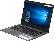 "Acer Cloudbook 14""HD Intel DualCore N3060 2.46GHz 2GBRAM 32GBHDD HDMI Win10 NewO"