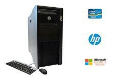 HP Z820 Workstation Intel Xeon 16 Core 2.6GHz 64GB RAM 2TB HD NVIDIA Win 10 Pro