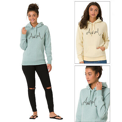 Animal Official Womens Sketched Soft Designer Casual Branded Pullover Hoodie