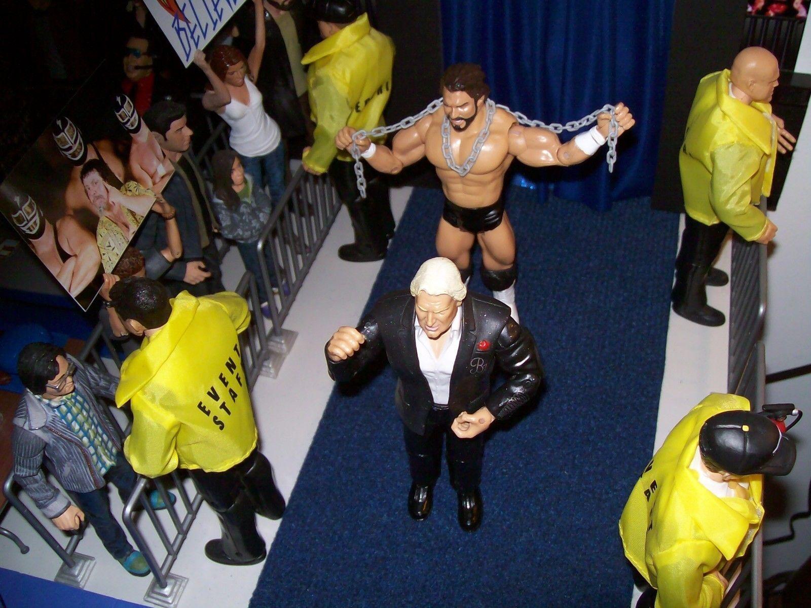 última Personalizado Hercules Hernández WWF Jakks Classic Superstars Figura De Acción