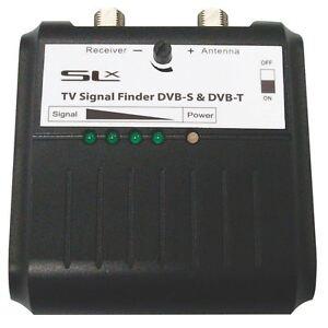 SLX 27868HS Terrestrial Freeview DVBT/Satellite TV Signal Finder, Inc Compass
