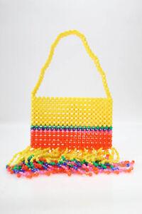 Susan-Alexandra-Womens-Gorgine-Shoulder-Handbag-LTDE821-Multi-Colored-Size-One-S