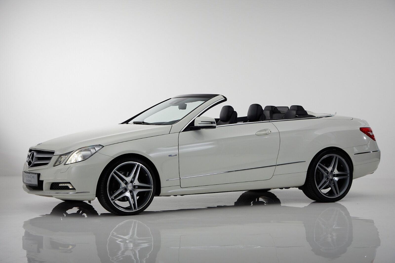 Mercedes E350 3,0 CDi Avantgarde Cab. aut. BE 2d