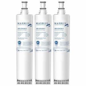 4x Water Filter for KitchenAid KSCS25FKSS01,KSRP25FNSS00
