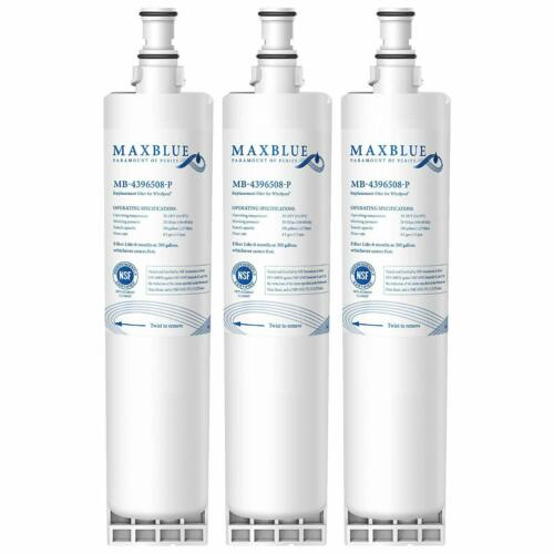 Refrigerator water filter Replacement for KitchenAid KSCS25FKSS02 1-3 Pack
