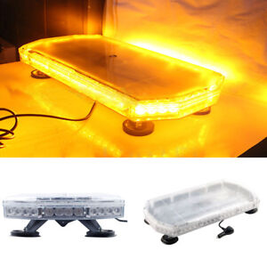 UK-Recovery-Light-bar-600mm-12-24v-Flashing-Beacon-Truck-Light-Strobes-Amber-LED