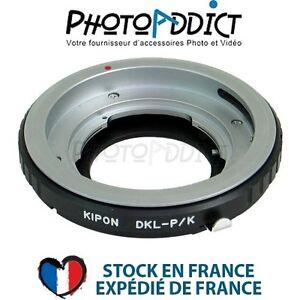KIPON-DKL-PK-Bague-d-039-adaptation-objectif-Retina-DKL-sur-boitier-Pentax-K