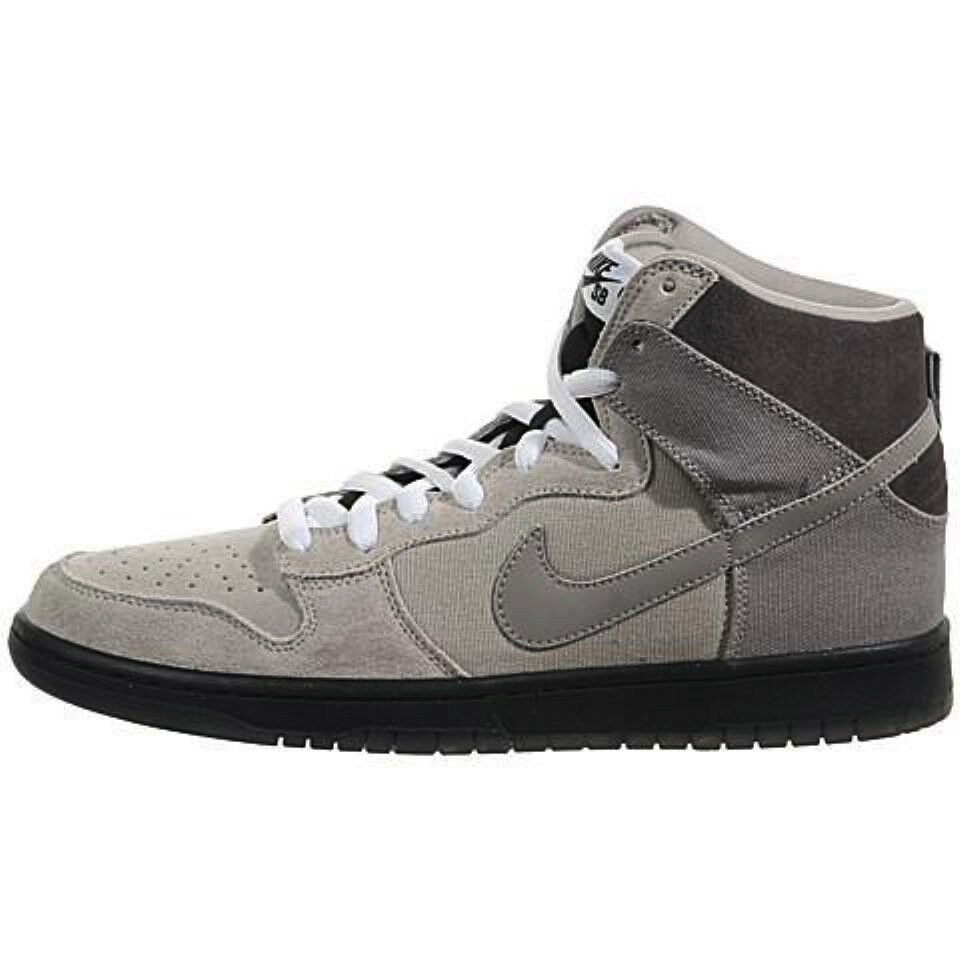 Nike DUNK HIGH PRO SB Magnet Medium  Gris  Discounted 305050-006 Homme Chaussures