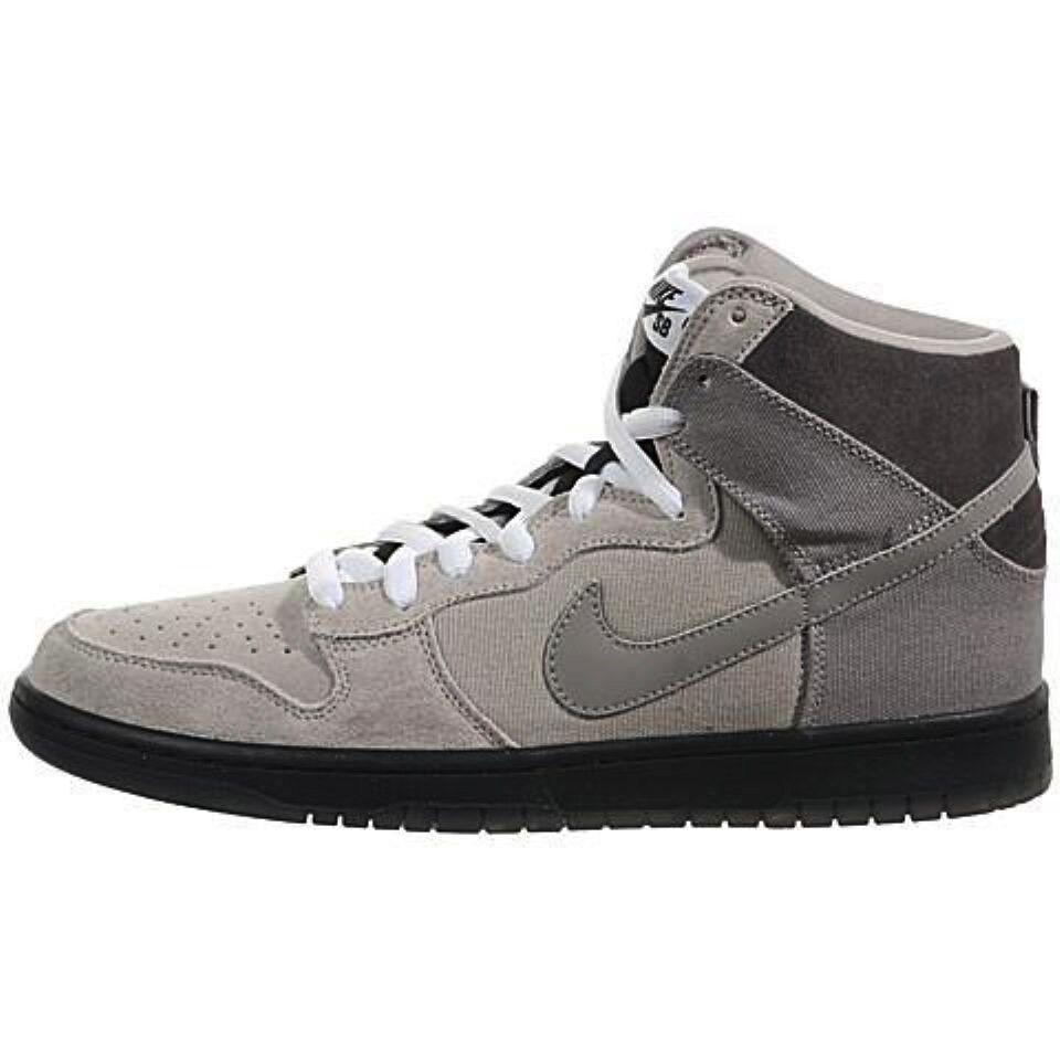 Nike DUNK HIGH PRO SB Magnet Medium Grey Skate Brand New Uomo Shoes