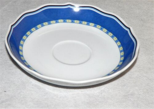 diverse Teile zur Wahl TCM Qualitätsporzellan Tchibo Mainau gelb blau