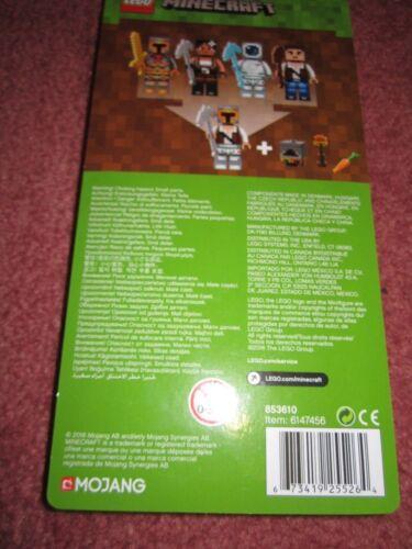 LEGO MINECRAFT SKIN PACK 2 853610 NEW//BOXED//SEALED