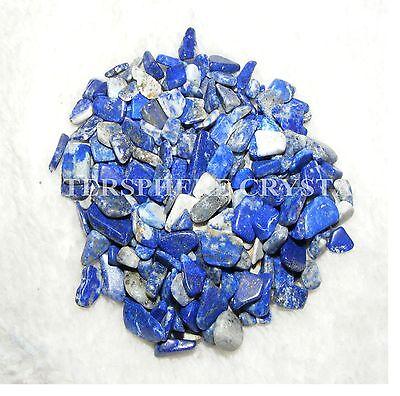 500 x Lapis Lazuli Mini Chip Tumblestones 5mm-9mm Crystal Gemstone Wholesale