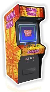 Arcade-Retro-Game-Sticker-for-Bumper-Truck-Laptop-Baggage-Suitcase