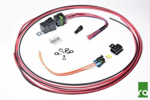 Radium ENGINEERING-FAI DA TE POMPA CARBURANTE Hardwire Kit con relè e fusibile #17-0031