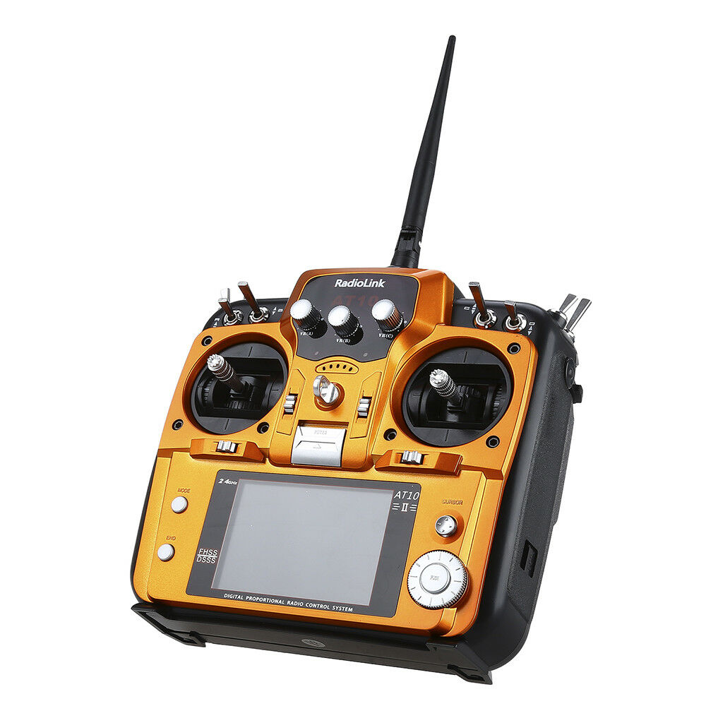 RadioLink AT10II 2.4GHz 12CH RC Transmitter &Receiver 7dbi high gain Fr RC Drone