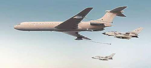 Vickers Super VC10 K3 Type 1164 Tanker Plastic Model Airplane  4823017702004