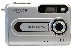 vistaquest vq815 8mp silver digital camera auto focus 878784001397 rh ebay com Digital Cameras with Manual Settings Omni 2 Digital Camera Manual