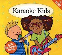 Various Artists - Karaoke Kids: Cdg On Screen Lyrics / Various [new Cd] on Sale
