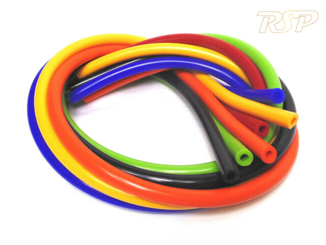 Silicone Vacuum Vac Hose Pipe Tube 3mm 4mm 5mm 6mm 7mm 8mm 9mm 10mm 13mm ID