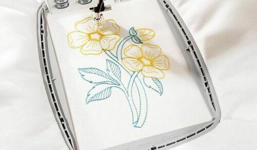"Design Hoop for Husqvarna Viking Designer Embroidery Machine 5/""x7/"" # 920085096"