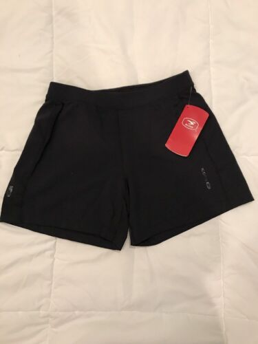 New Women/'s Sugoi noir Hatha Running Shorts Small S Neuf avec étiquettes