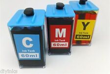 3 Color Ink Tank for HP 920 920XL & 564 564XL DIY Ink REFILL System