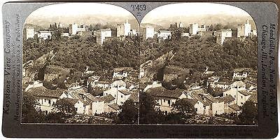 Spain from 1930's T600 Set #T457 Lemona Keystone Stereoview an Old Farmhouse