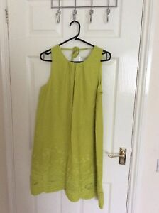 Ladies-summer-gown-great-for-outings-brand-new-with-tag-colour-lime-gorgeous
