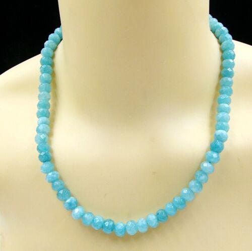 BAILYSBEADS wunderschöne Larimar Halskette Collier Necklace Top Qualität