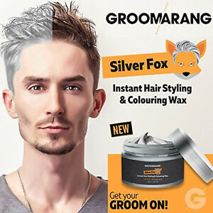 Silver-Fox-Instant-Hair-Colour-Styling-Wax-Natural-Grey-Wash-Out-Temporary-Dye