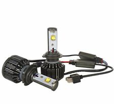 KIT H7 LAMPADE A LED CREE FULL LED 2600 LUMEN 6000K DIGITALE 12V 24V CAMION AUTO