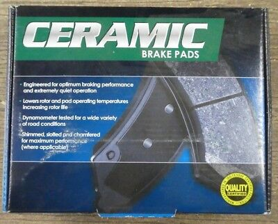 BRAND NEW FRICTION PLUS FRONT BRAKE PADS D727 FITS VEHICLES LISTED ON CHART