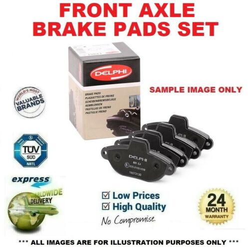 F30, F35, F80 Front Axle BRAKE PADS SET for BMW 3 320d xDrive 2015-2018