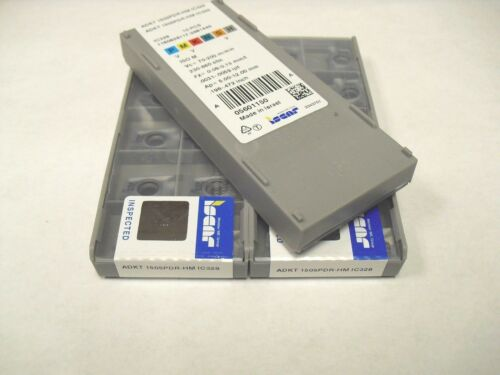 ADKT 1505PDR HM IC328 ISCAR Insert **10PCS** Genuine